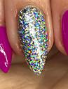 1 pcs Poudre de paillettes Effet miroir / Nail Glitter Nail Art Design