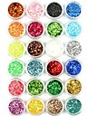 1pcs Glitter Powder Sequins Sparkle Nail Art Tips