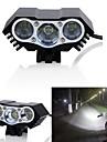 Luce frontale per bici / Fanale anteriore LED Luci bici LED Ciclismo Impermeabile, Modalita multiple Solare 3000 lm DC Alimentato Ciclismo / IPX-5