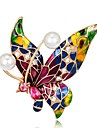 Women\'s Brooches - Butterfly Ladies, Vintage Brooch Jewelry Red,Blue,Purple For Party / Daily