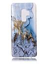 Etui Käyttötarkoitus Samsung Galaxy S9 Plus / S9 IMD / Kuvio Takakuori Marble Pehmeä TPU varten S9 / S9 Plus / S8 Plus