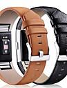 حزام إلى Fitbit Charge 2 فيتبيت بكلة كلاسيكية جلد شريط المعصم