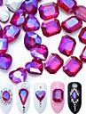 90 Rhinestones Nail Jewelry Crystal Gems Elegant & Luxurious Sparkle & Shine Crystal Luxury Fashionable Design Sparkling Crystal /