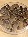9pcs Необычные Шоколад Печенье Нержавеющая сталь + категория А (ABS) Пивные инструменты