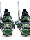 Walkie Talkie Multiples Funciones Compas Relojes de Pulsera El plastico Carcasa de plastico Ejercicio al Aire Libre Camping / Senderismo / Cuevas Camuflaje 2 pcs