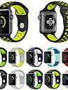 Pulseiras de Relogio para Apple Watch Series 3 / 2 / 1 Apple Pulseira Esportiva Silicone Tira de Pulso