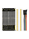 LED-Punkt-Matrix-Display-Modul 16 * 16 unbegrenzte Kaskadierung / 12864 kompatible Schnittstellen fuer Arduino