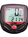 SD-548A 자전거 디지털 장비 스탑 와치 방수 백라이트 LCD 스피드오미터 경과 시간 유선 멀티기능 프리즈 프레임 메모리 스캔 SPD - 현재 속도 주행 기록계 시계 Av - 평균 속도 편리 상기 속도 위반 Dst - 트립 디스턴스 자동