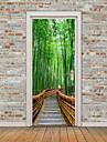 Пейзаж Натюрморт Наклейки Простые наклейки 3D наклейки Декоративные наклейки на стены Дверные наклейки, Винил Украшение дома Наклейка на