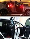 2pcs Noc LED Light Czerwony Automatyczny przełącznik Bezpieczeństwo Nagły wypadek Żarówki Samochodowe LED Dekoracja samochodu Lampka drzwi
