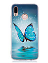 Case For Huawei P20 lite P20 Pro Glow in the Dark IMD Pattern Back Cover Butterfly Shine Soft TPU for Huawei P20 lite Huawei P20 Pro