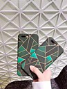 Capinha Para Apple iPhone X iPhone 8 Aspero Estampada Capa traseira Estampa Geometrica Rigida PC para iPhone X iPhone 8 Plus iPhone 8