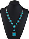 Tyrkysová Y Náhrdelník dlouhý náhrdelník dámy Geleneksel Módní Tyrkysová 69.8+5.5 cm Náhrdelníky Šperky Pro Dovolená Jdeme ven