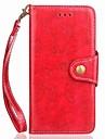 Coque Pour Motorola G5 G5 Plus Porte Carte Portefeuille Avec Support Clapet Magnetique Coque Integrale Couleur Pleine Dur faux cuir pour