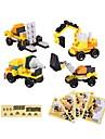 ブロックおもちゃ 建設セット玩具 知育玩具 クラシックテーマ 互換性のある Legoing 減圧玩具 親子インタラクション トラクター ブルドーザー ボーリングマシン 男の子 女の子 おもちゃ ギフト