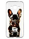 hoesje Voor Samsung Galaxy J3 (2016) Transparant Patroon Achterkant Hond Cartoon Zacht TPU voor J3 (2016)