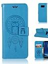 Кейс для Назначение SSamsung Galaxy S9 S9 Plus Бумажник для карт Кошелек Флип С узором Чехол Ловец снов Сова Твердый Кожа PU для S9 Plus