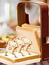 Кухонные принадлежности Пластик Творческая кухня Гаджет Наборы инструментов для приготовления пищи Для приготовления пищи Посуда / Для получения хлеба 1шт