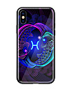 Coque Pour Apple iPhone X / iPhone 8 Motif Coque Animal Dur Verre Trempe pour iPhone X / iPhone 8 Plus / iPhone 8