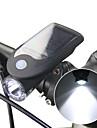 LED Pyöräilyvalot Polkupyörän etuvalo Polkupyörän etuvalaisin Pyöräily Vedenkestävä Useita toimintatiloja Li-ion 240 lm Aurinkopaneeli USB käyttöinen Telttailu / Retkely / Luolailu Pyöräily / ABS
