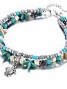 Women\'s Strand Bracelet - Turtle, Starfish Ladies, Ethnic Bracelet Jewelry Light Blue For Gift Daily