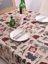 Moderní PVC / Netkané textilie Obdélníkový Prostírání Geometrický Stolní dekorace 1 pcs