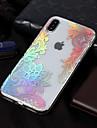 Etui Käyttötarkoitus Apple iPhone X / iPhone 8 IMD / Kuvio Takakuori Lace Printing Pehmeä TPU varten iPhone XS / iPhone XR / iPhone XS Max