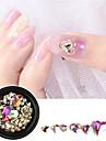 1 pcs Tırnak Takısı imitasyon Pırlanta tırnak sanatı Manikür pedikür Günlük Giyim Moda / Nail Jewelry