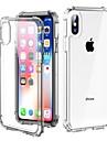 Coque Pour Apple iPhone X / iPhone 8 Antichoc / Transparente Coque Couleur Pleine Dur PC pour iPhone X / iPhone 8 Plus / iPhone 8
