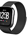 Watch Band for Fitbit Versa Fitbit Milanese Loop Steel Wrist Strap