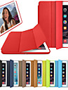 Case For Apple iPad (2018) / iPad (2017) Flip / Magnetic / Origami Full Body Cases Solid Colored Hard PU Leather for iPad (2018) / iPad