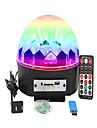 1 세트 16W 9 LED 리모콘 LED무대 라이트 RGB AC 100-240V
