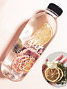 Drinkware Plastique Bouteilles d\'Eau / Bouteille de Sport Girlfriend cadeaux / Mignon 1 pcs