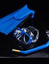 Ronilački paketi - Maska za ronjenje Peraje za ronjenje Dihalica - Sprječava ulazak vode Prilagodljiva traka Anti-Fog Plivanje Ronjenje Guma PC  Za Djeca