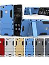 Etui Til Huawei P9 Lite med stativ Bakdeksel Ensfarget Hard PC til Huawei P9 Lite