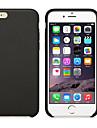 Case Kompatibilitás Apple iPhone 7 Plus / iPhone 6 Plus Jeges Fekete tok Egyszínű Puha Szilikon mert iPhone 8 Plus / iPhone 8 / iPhone 7 Plus
