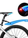 Bisiklet Çamurluklar Dağ Bisikleti Ayarlanabilir / LED Işıklar / İçeri Çekilebilir Plastikler - 2 pcs Kırmzı / Yeşil / Mavi