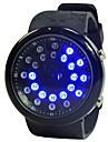 Men\'s Sport Watch Quartz Black Calendar / date / day Noctilucent Digital Fashion - Black