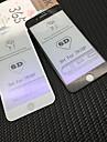 Protecteur d\'ecran pour Apple iPhone 8 Plus / iPhone 8 / iPhone 7 Plus Verre Trempe 1 piece Ecran de Protection Avant Durete 9H / Anti Lumiere Bleue / Coin Arrondi 3D