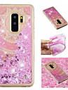 Huelle Fuer Samsung Galaxy S9 Plus / S9 Mit Fluessigkeit befuellt / Muster / Glaenzender Schein Rueckseite Mandala / Glaenzender Schein Weich TPU fuer S9 / S9 Plus / S8 Plus