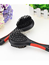 Dogs / Cats Grooming / Cleaning Comb Portable / Double-Sided / Massage Black