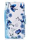 Pouzdro Uyumluluk Apple iPhone 6 / iPhone 6s Cüzdan / Kart Tutucu / Flip Tam Kaplama Kılıf Çiçek Sert PU Deri için iPhone 6s / iPhone 6