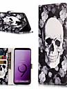 Etui Til Samsung Galaxy S9 Plus / S9 Lommebok / Kortholder / med stativ Heldekkende etui Mandala Hard PU Leather til S9 / S9 Plus / S8 Plus