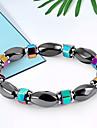 Women\'s Black Gemstone Stylish Strand Bracelet Bracelet - Creative Unique Design, Romantic, Elegant Bracelet Black For Birthday Daily