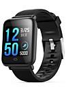 q9 sport impermeabile smartwatch per android ios bluetooth monitor della frequenza cardiaca misurazione della pressione sanguigna touch screen calorie bruciate esercizio record timer cronometro pedome