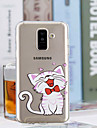 Case For Samsung Galaxy A6+ (2018) / A6 (2018) Transparent / Pattern Back Cover Cat Soft TPU for A6 (2018) / A6+ (2018) / A3(2017)