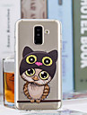 Case For Samsung Galaxy A6+ (2018) / A6 (2018) Transparent / Pattern Back Cover Owl Soft TPU for A6 (2018) / A6+ (2018) / A3(2017)