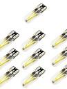 10pcs T10 차 전구 2 W COB 150 lm 2 LED 방향 지시등 제품