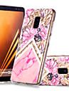 غطاء من أجل Samsung Galaxy A8 Plus 2018 / A8 2018 نموذج غطاء خلفي زهور / حجر كريم ناعم TPU إلى A6 (2018) / A6+ (2018) / A8 2018