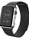 カーフヘアー 時計バンド ストラップ のために Apple Watch Series 3 / 2 / 1 ブラック / ブルー / ブラウン 23センチメートル / 9インチ 2.1cm / 0.83 Inch